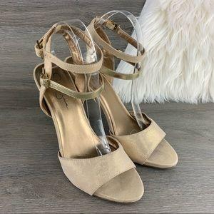 Jessica Simpson Iyana Heels Size 9.5 B